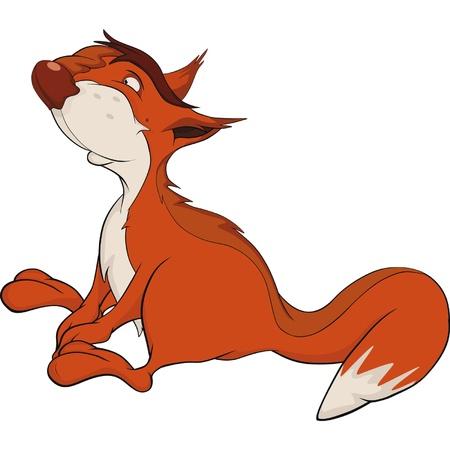 The squirrel. Cartoon Stock Vector - 11819038