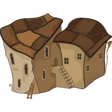 The old Castle from a fairy tale Vector
