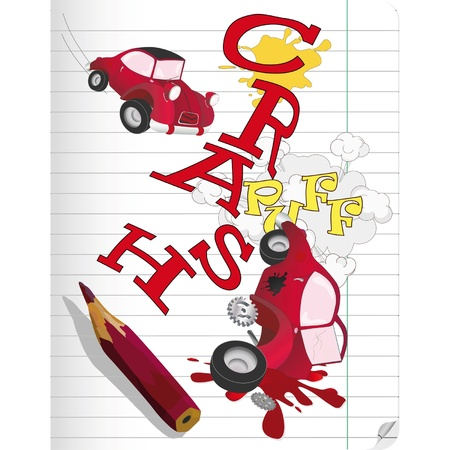 drunk driving: Drawing the car and failure