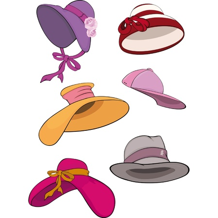 fedora hat: The complete set of female hats