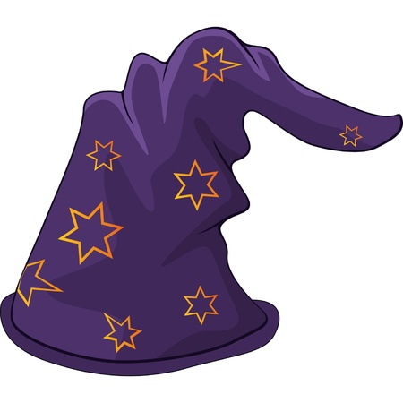 Hat of the wizard  Cartoon