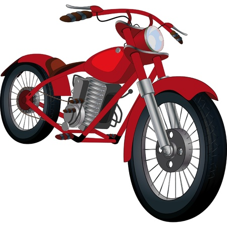 Motorcycle Stock Vector - 12485422