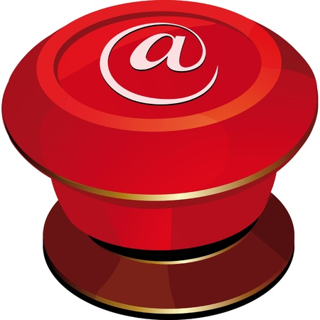 toggle-switch red Internet Stock Vector - 12485642