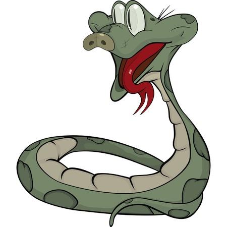 coldblooded: Snake  Cartoon