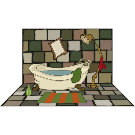bath room: Bathroom Illustration