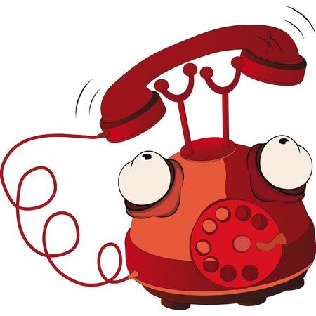 telefon: Telefon Ilustracja