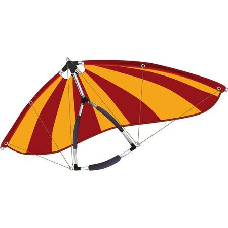 aerodynamics: Hang gliding
