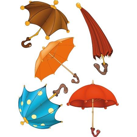 Complete set of umbrellas