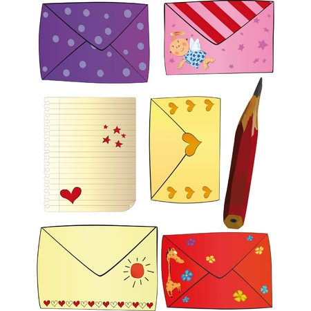Letters Happy Valentine s day Vector