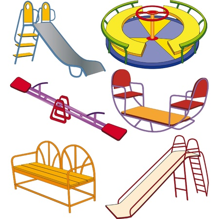 chain swing ride: The complete set a children s swing