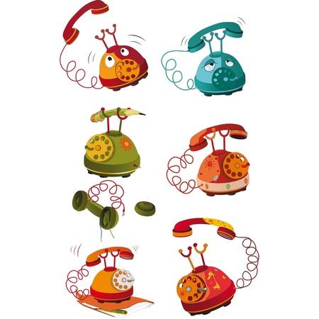 The complete set of phones Vector
