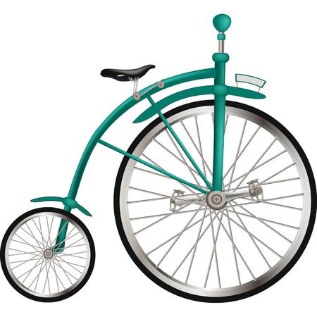 サーカスの古い自転車