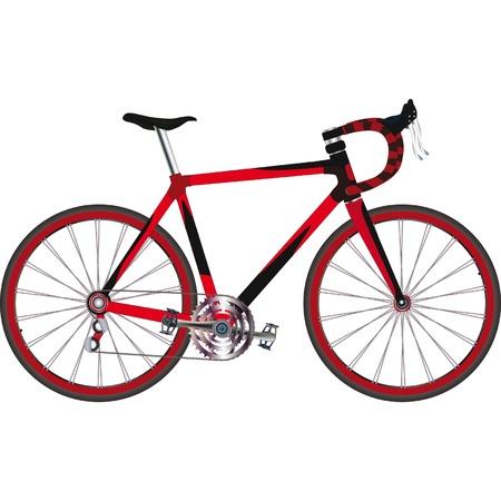 スポーツ自転車  イラスト・ベクター素材