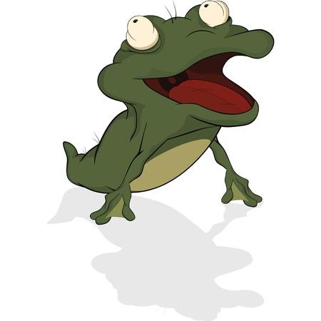 tadpole: Tadpole. Cartoon