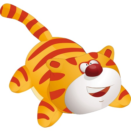 Toy cat Stock Vector - 13633684