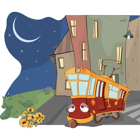 conveyances: Fairy tale on a tired red tram