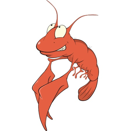 Red lobster cartoon