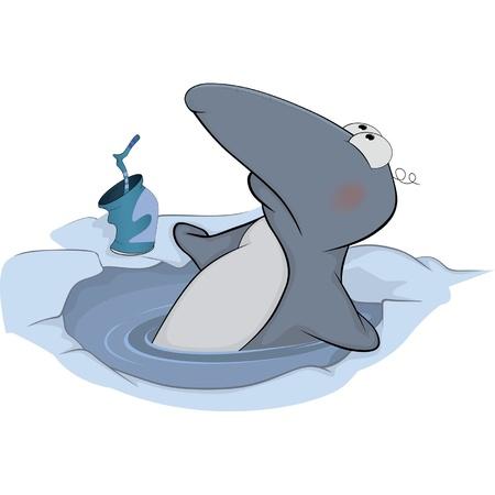 Penguin cartoon Stock Vector - 15290251