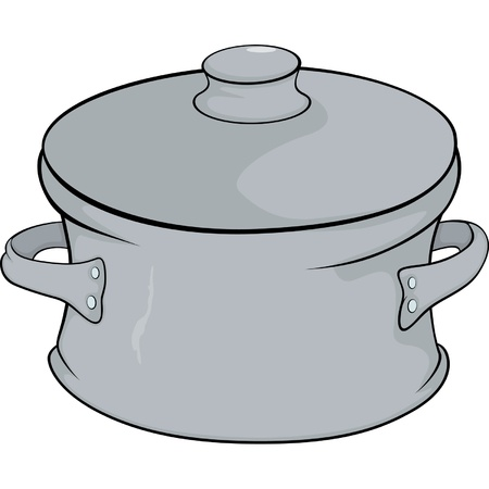 Cookware cartoon Stock Vector - 17106786