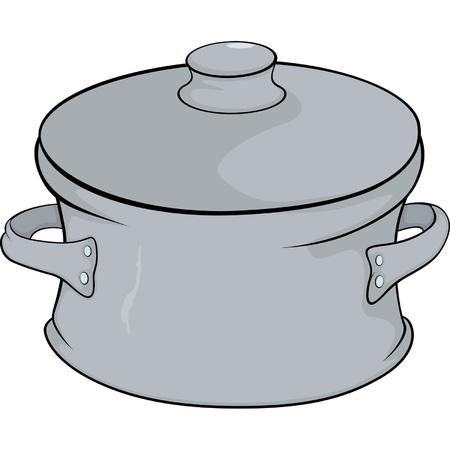 Cookware cartoon Stock Vector - 17106786