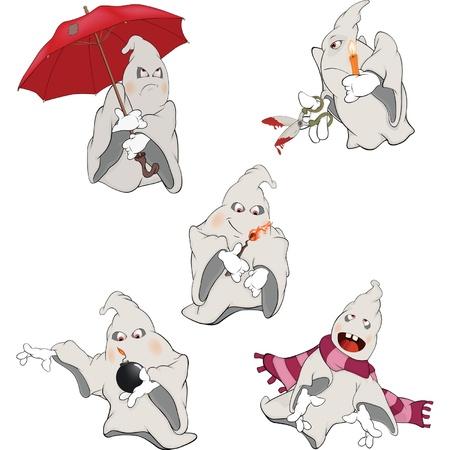 Spirit Clip Art. Cartoon Vector