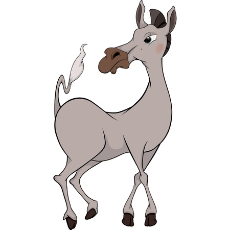 Horse. Cartoon Vector