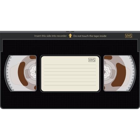 videocassette: Videocassette Illustration