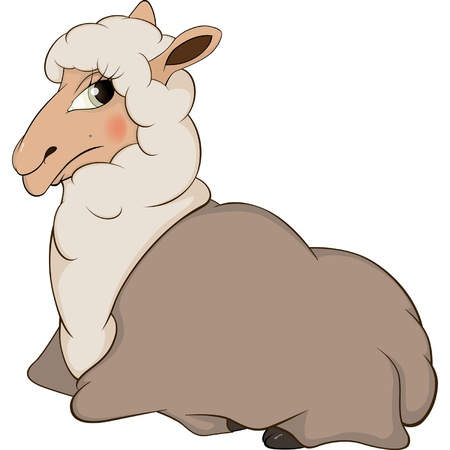 Lamb cartoon  Vector