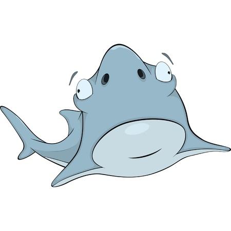 Shark. Cartoon Stock Vector - 18698203