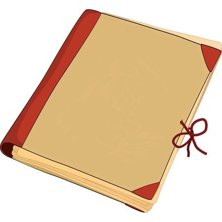 Old folder Stock Vector - 20049627