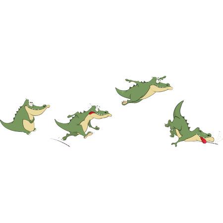 Crocodiles Vector