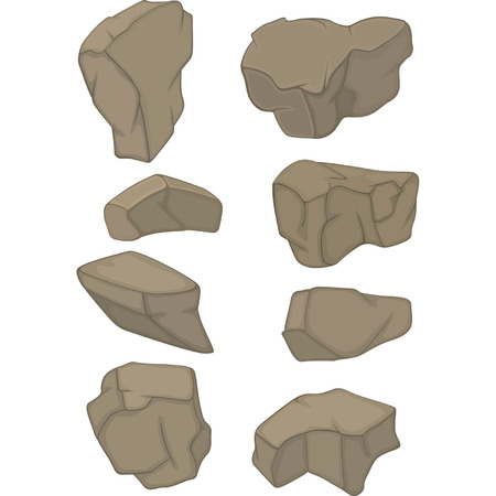 quarry: Stones Set cartoon