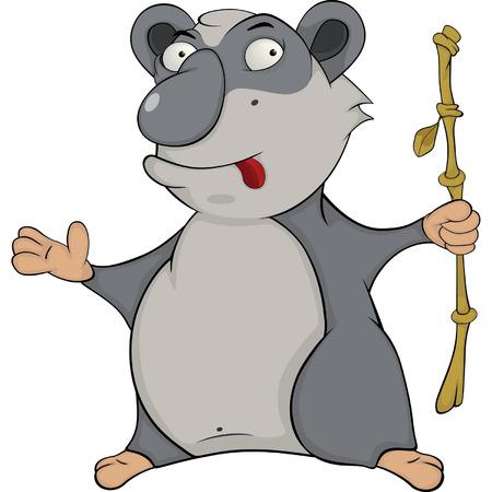 Bear  Panda  Cartoon Stock Vector - 24441831