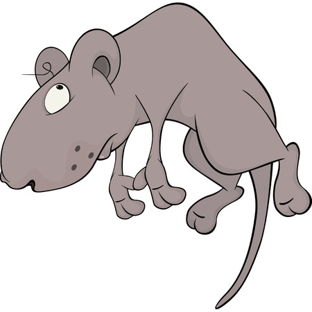 mustached: Mouse cartoon