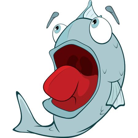 despondency: Deep-water fish  Cartoon