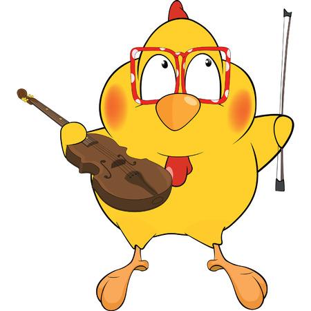 violinist: Chicken the violinist