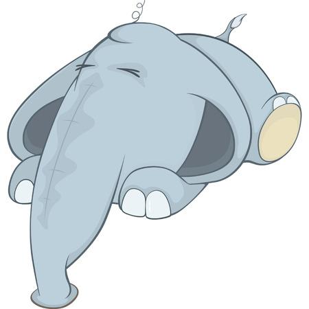 pl�schtier: Stofftier Elefant