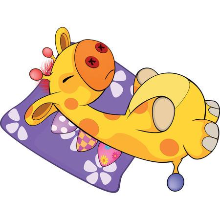 pl�schtier: ein Pl�schtier Giraffe