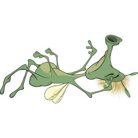 siesta: Insetto cartone animato