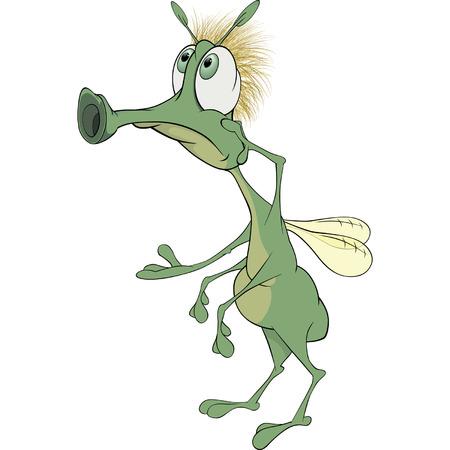 glowworm: Green insect cartoon