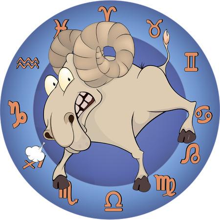 Chinese horoscope cartoon Vector