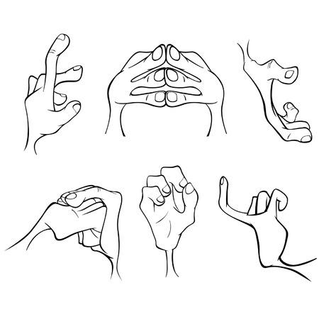 mani cartoon: Mani cartone animato