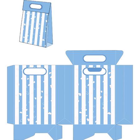 Handbags packages pattern