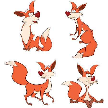 swindler: foxes set cartoon
