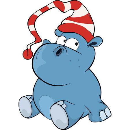 hipopotamo caricatura: