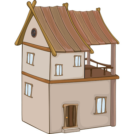 holiday villa: A video game object: an old house