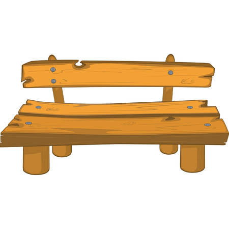 chair wooden: Classic garden bench