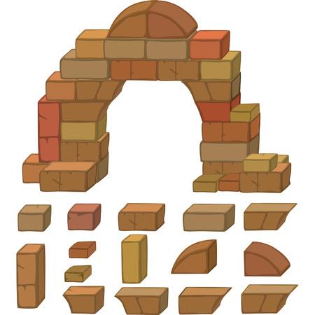 hump: stones set cartoon