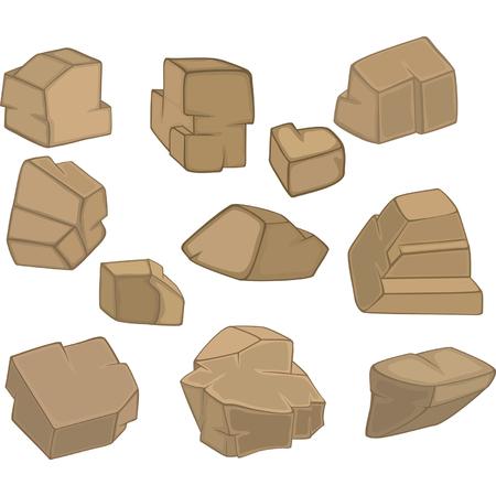 quarry: Set of Stones, Rock elements