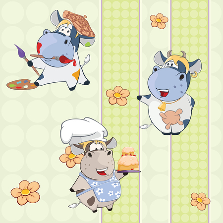 fruitcakes: A background with cows